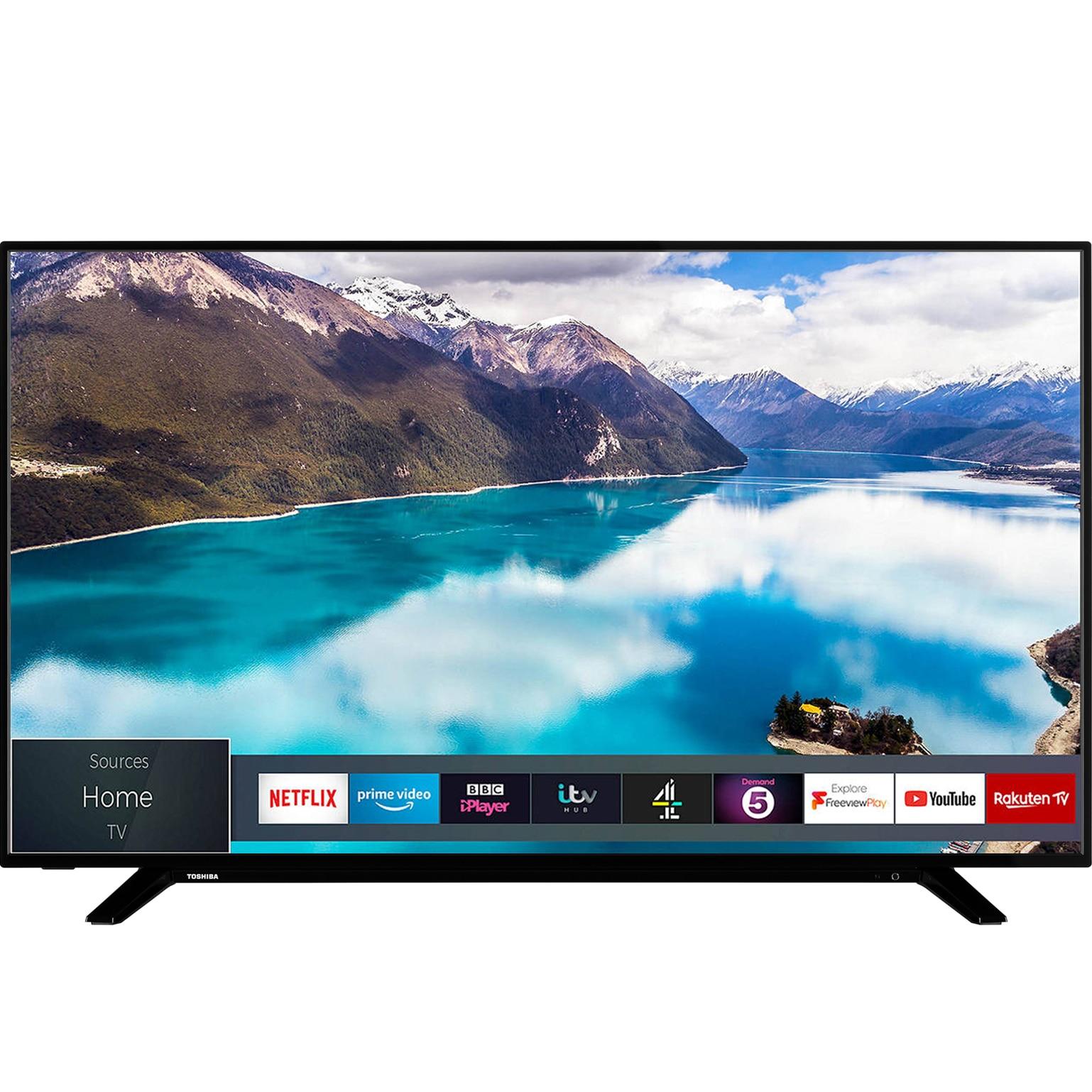 Fotografie Televizor Toshiba 55U2963DG, 139 cm, Smart, 4K Ultra HD, LED, Clasa A+