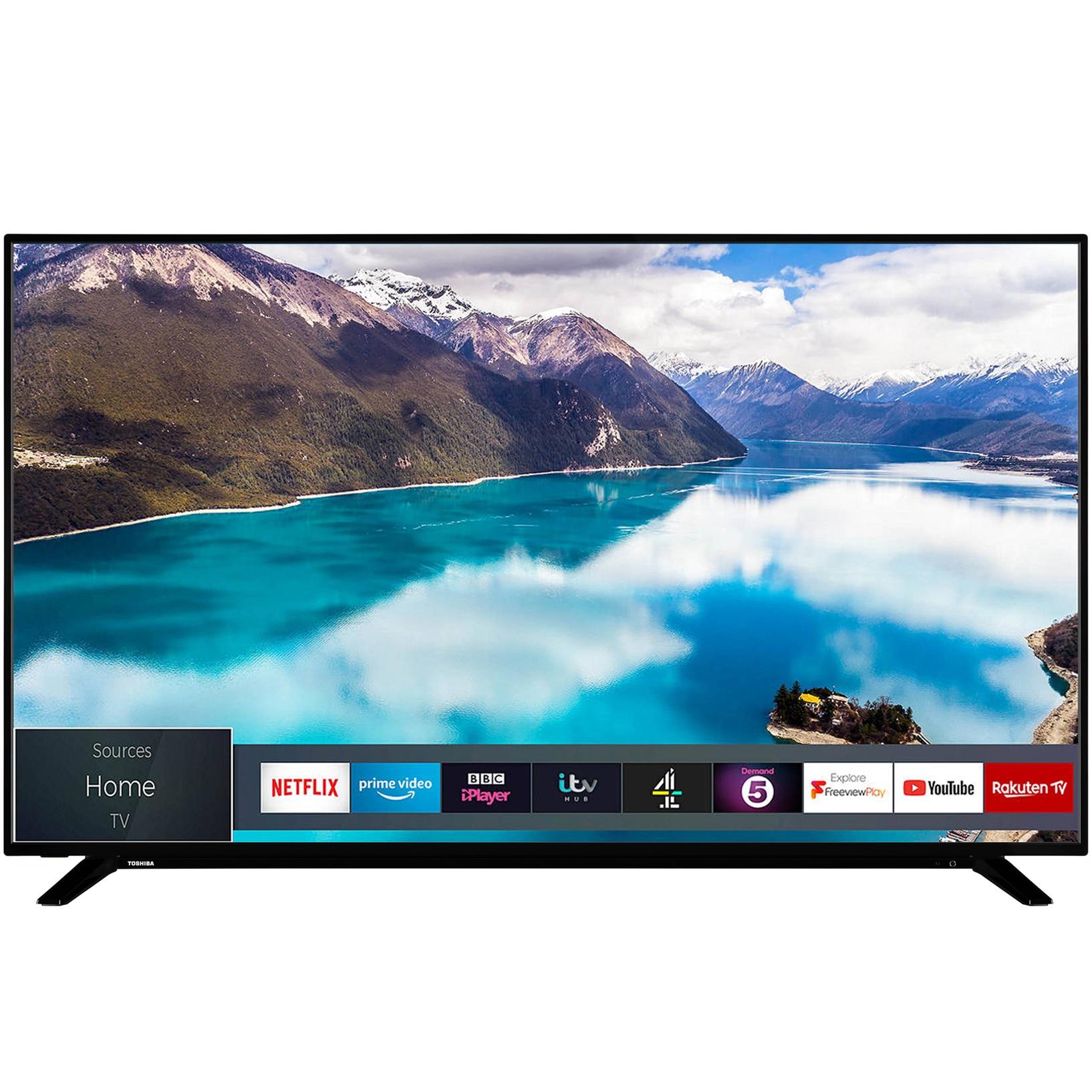 Fotografie Televizor Toshiba 65U2963DG, 164 cm, Smart, 4K Ultra HD, LED, Clasa A+