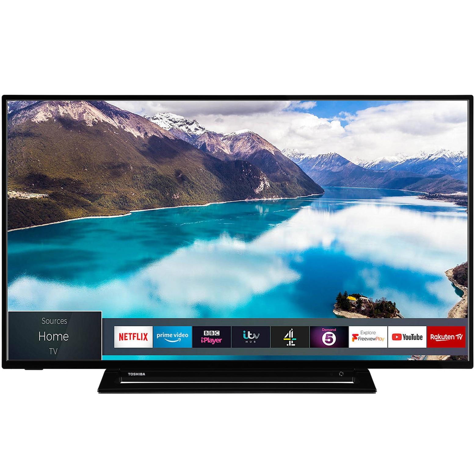 Fotografie Televizor Toshiba 55U3963DG, 139 cm, Smart, 4K Ultra HD, LED, Clasa A+