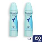 REXONA Ultimate Fresh 72h izzadásgátló dezodor - 2x150 ml