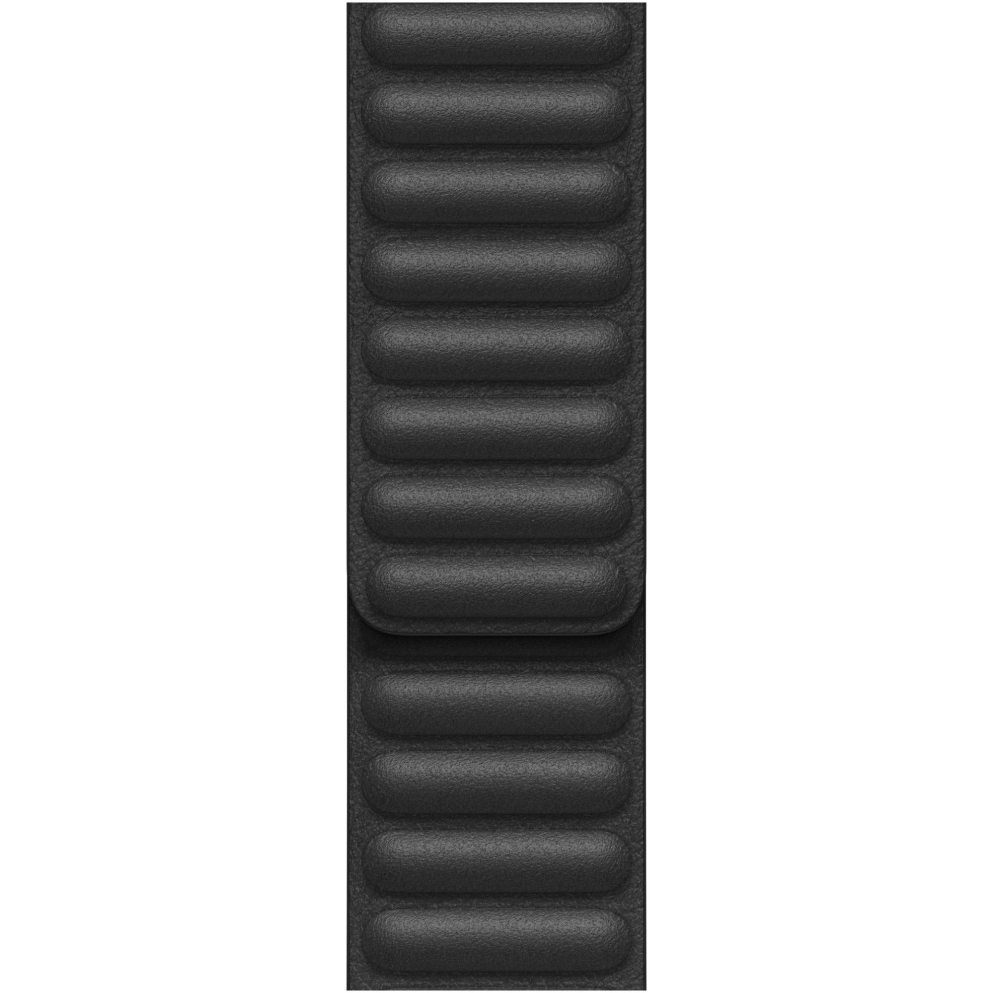 Fotografie Curea pentru Apple Watch 44mm, Black Leather Link, Small