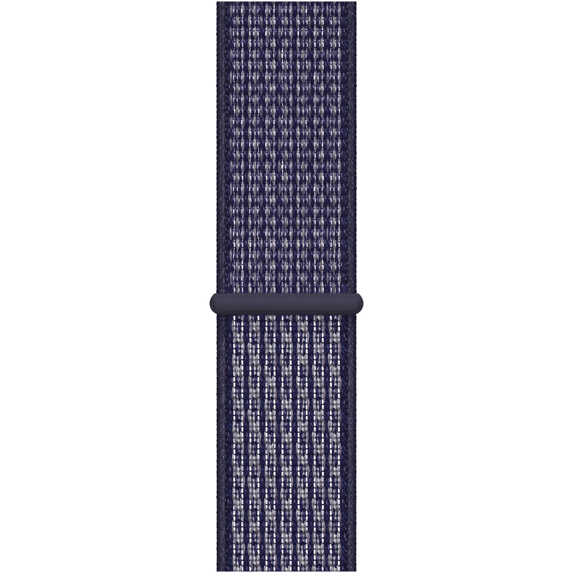 Fotografie Curea pentru Apple Watch 40mm, Purple Pulse Nike Sport Loop