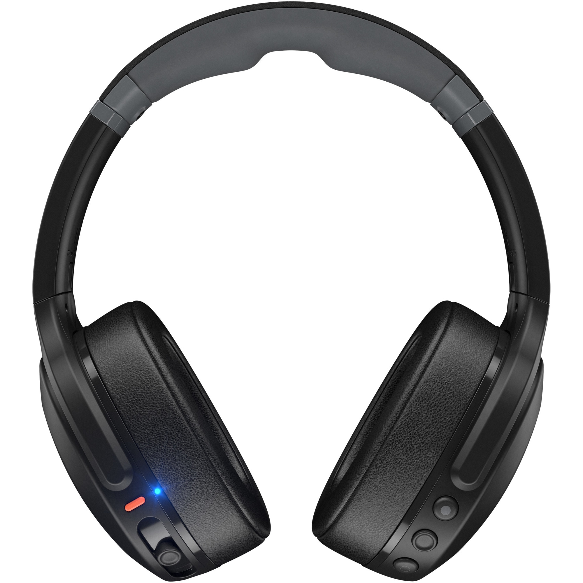 Fotografie Casti Audio Over the Ear Pliabile Skullcandy Crusher Evo, Wireless, Bluetooth, Microfon, Autonomie 40 ore, True Black