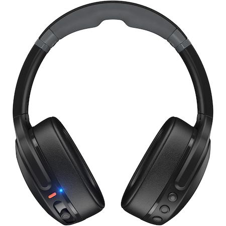 Casti Audio Over the Ear Pliabile Skullcandy Crusher Evo, Wireless, Bluetooth, Microfon, Autonomie 40 ore, True Black