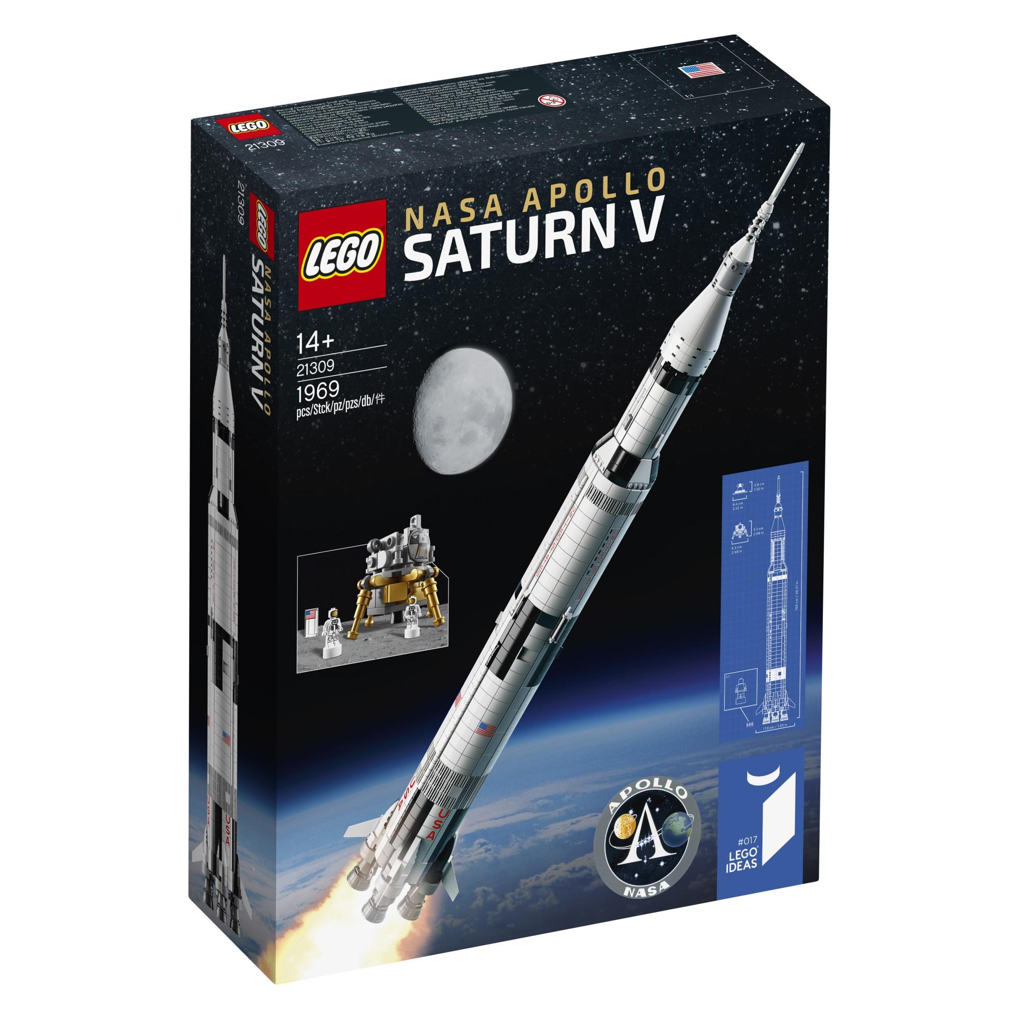 Fotografie LEGO Ideas - NASA Apollo Saturn V 92176, 1969 piese