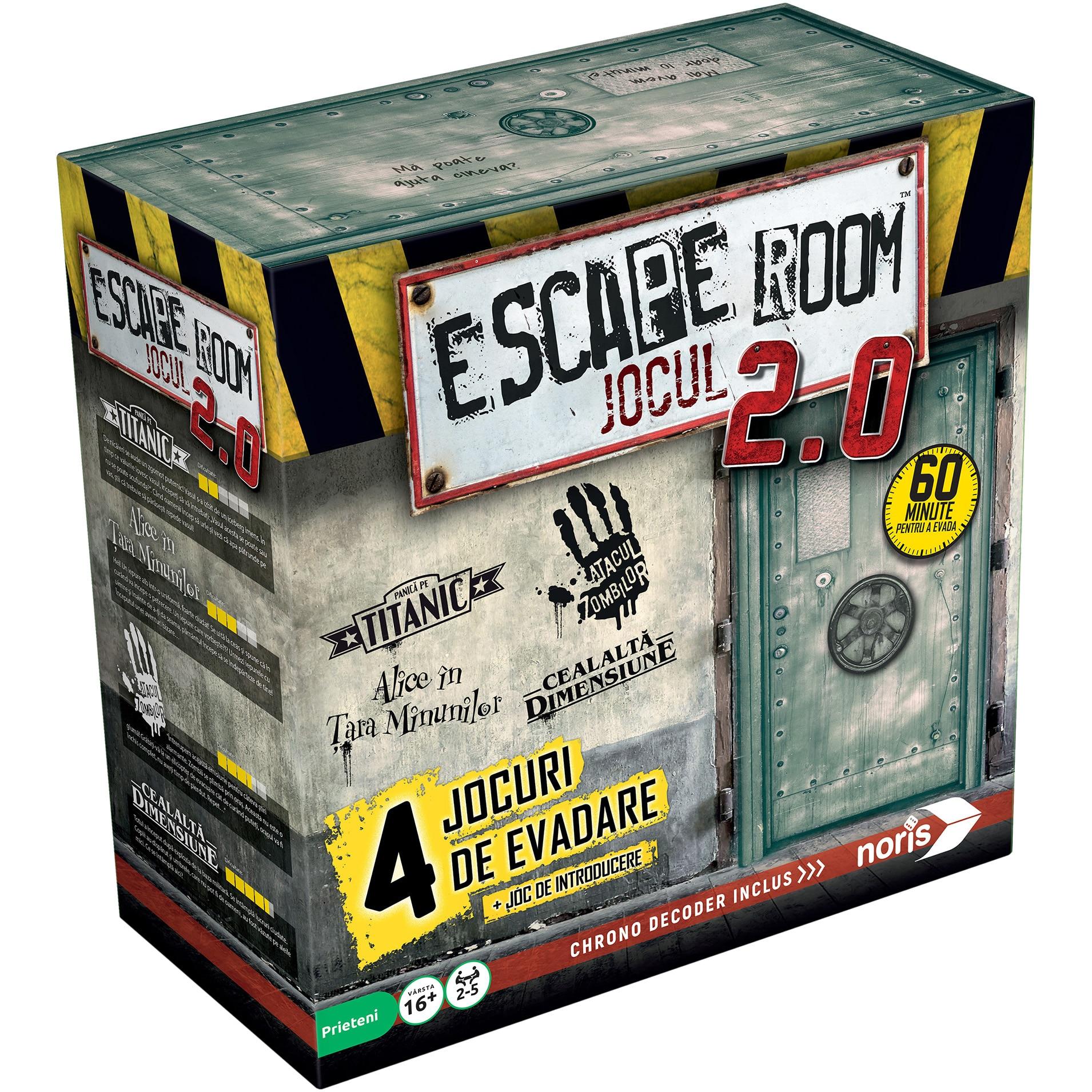 Fotografie Escape Room Jocul 2.0