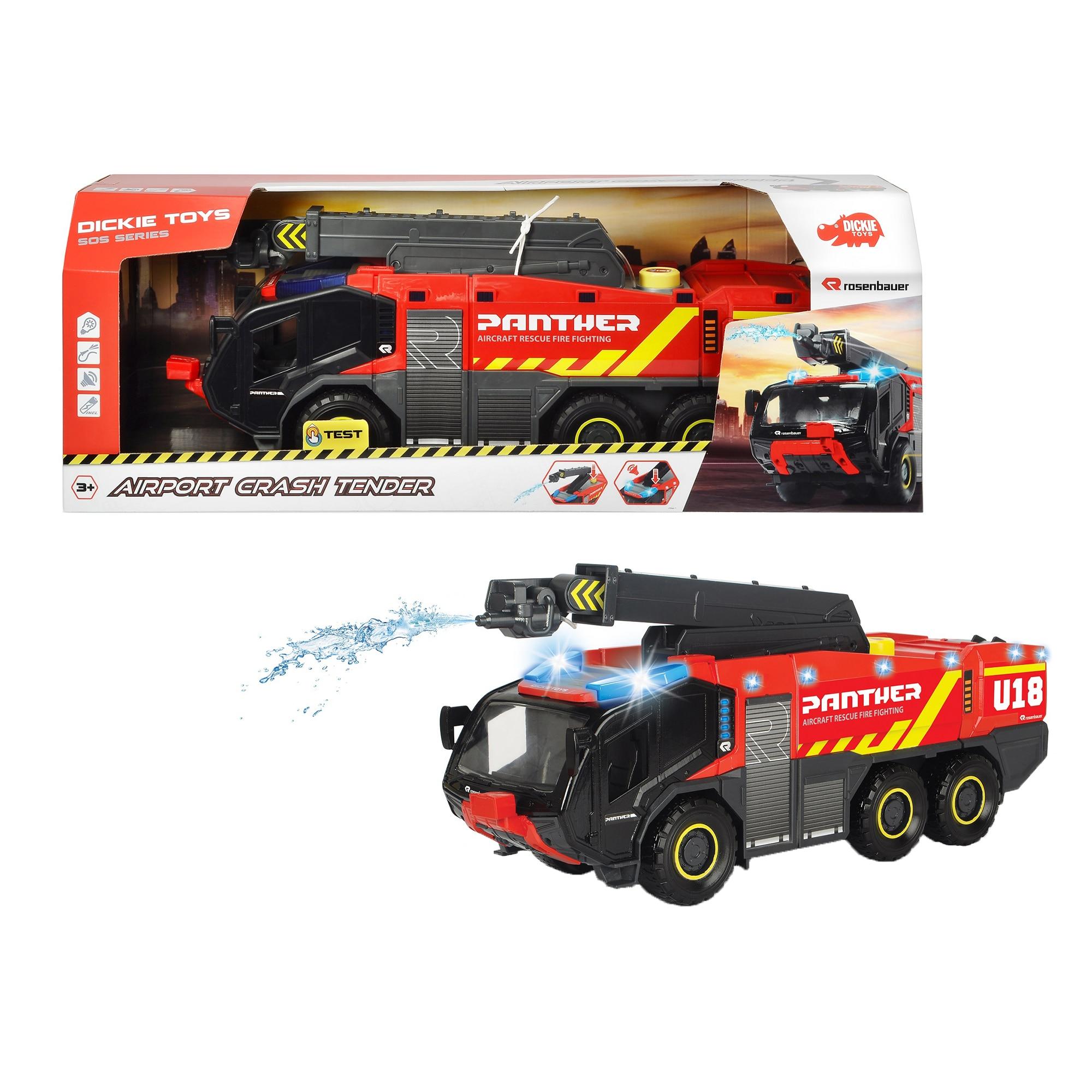 Fotografie Masina de pompieri Dickie Toys - Airport crash tender, 62 cm