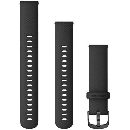 Fotografie Curea ceas smartwatch Garmin 18mm, Black/Gunmetal