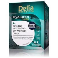 Delia Hyaluron Fusion Intenzív ránctalanító és hidratáló krém 40+ (nappali/éjszakai) 50 ml