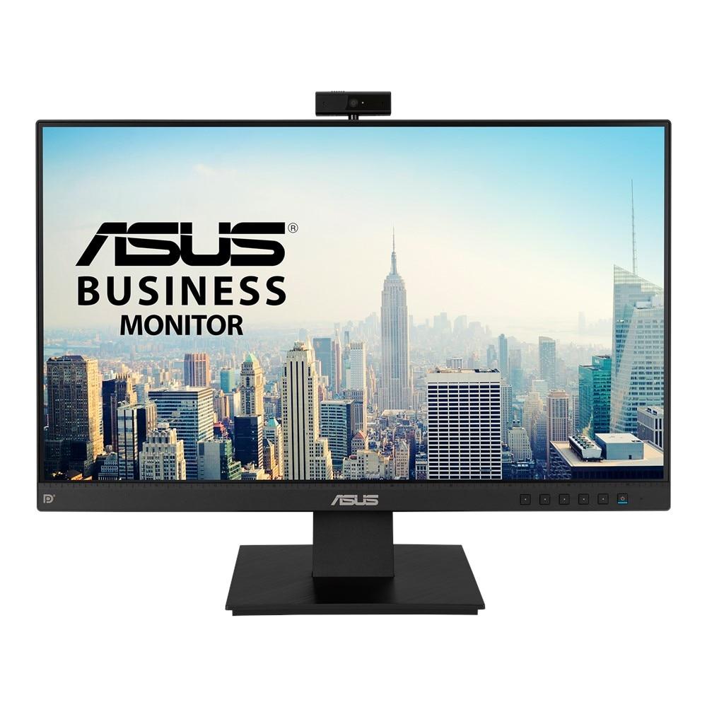 "Fotografie Monitor Business LED IPS ASUS 23.8"", Full HD, Frameless, FullHD Webcam, Mic Array, Flicker free, Low Blue Light, HDMI, BE24EQK"