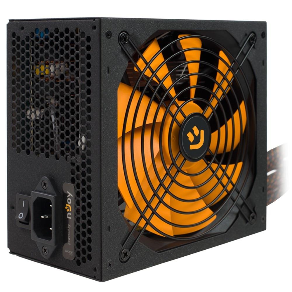 Fotografie Sursa nJoy Woden 650, 650W Real Power, PFC Activ, 80 Plus Gold