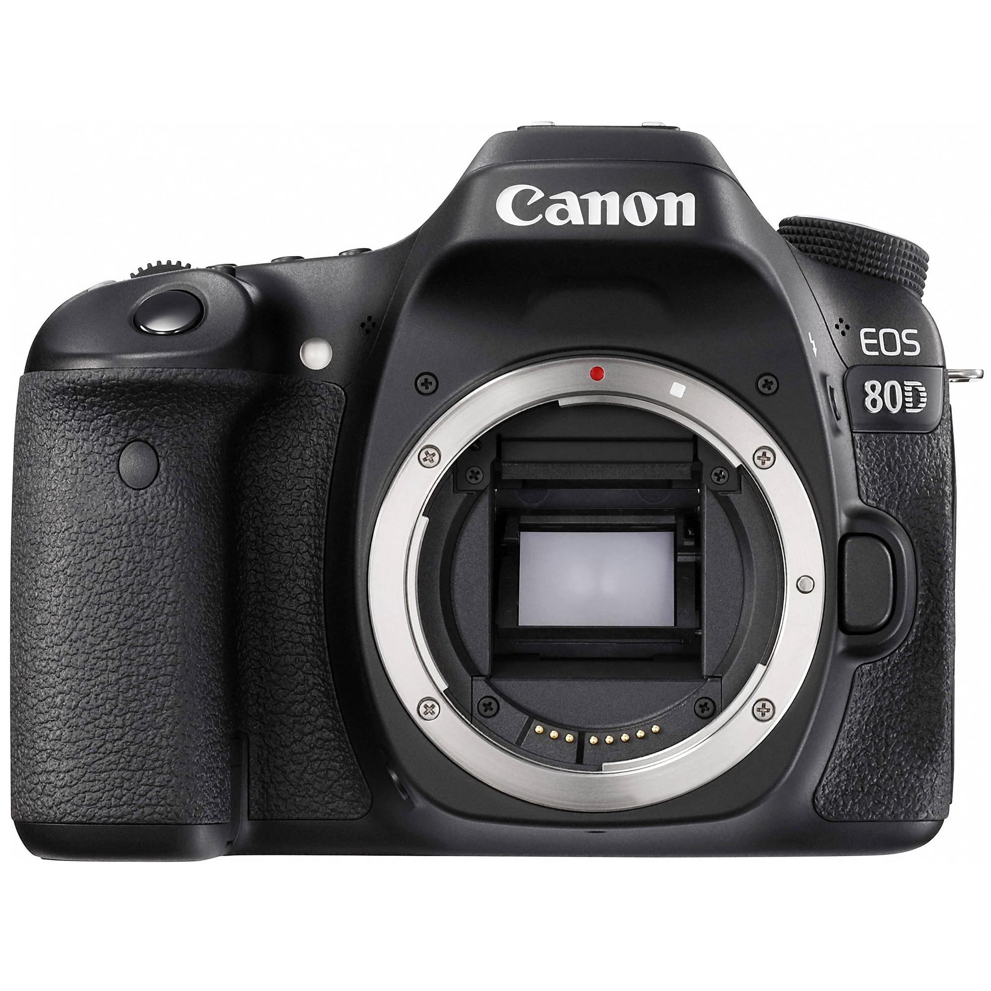Fotografie Aparat foto DSLR Canon EOS 80D BK, 24.2 MP, WiFi, Body
