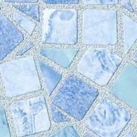 Kék mozaik öntapadós tapéta 45cm x 15m