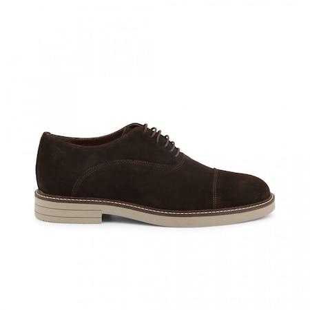 Pantofi barbati, Made in Italia, 603_CAMOSCIO, Maro, 44
