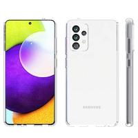Силиконов Кейс за Samsung Galaxy A52, Удароустойчив, Прозрачен