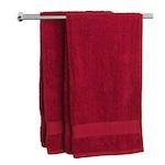 5 db Piros 70x140 cm pamut törölköző. 400g/ m²