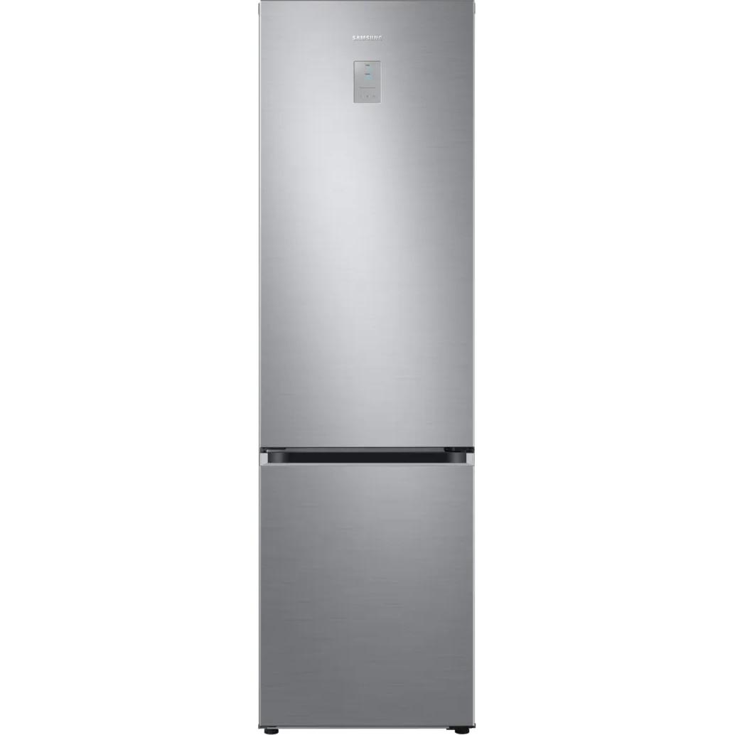 Fotografie Combina frigorifica Samsung RB38T676CS9/EF, 385 l, Clasa C, NoFrost, Compresor Digital Inverter, All around coooling, Optimal Fresh Zone, H 203 cm, Inox