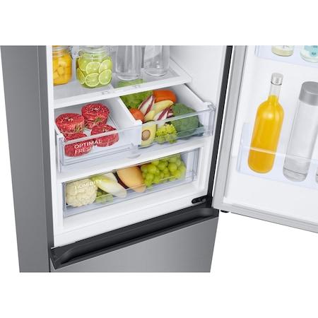 Хладилник с фризер Samsung RB38T676DSA/EF, 385 л, NoFrost, Компресор Digital Inverter, All around coooling, Optimal Fresh Zone, Клас A++, H 203 см, Metal Graphite