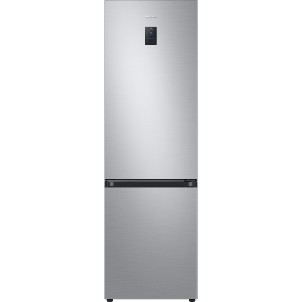 Fotografie Combina frigorifica Samsung RB36T675ESA/EF, 360 l, Clasa E, NoFrost, Compresor Digital Inverter, All around coooling, Optimal Fresh Zone, H 194 cm, Argintiu