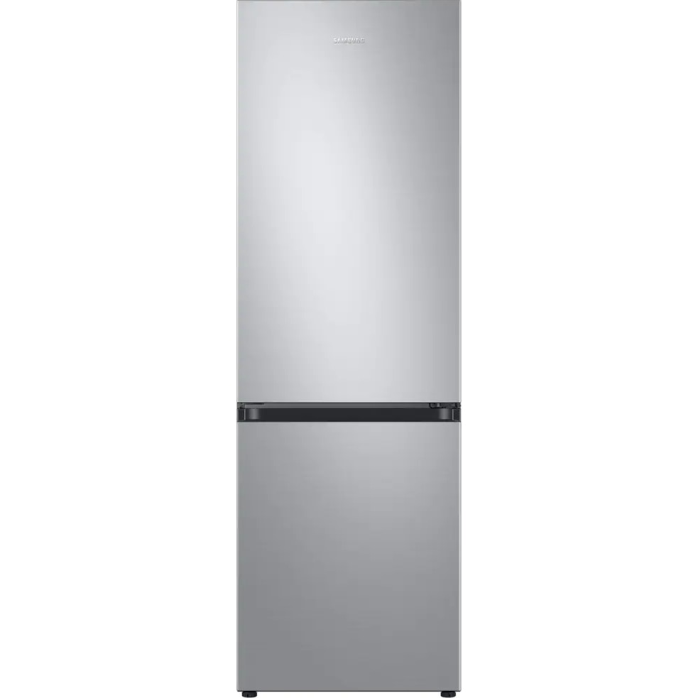 Fotografie Combina frigorifica Samsung RB34T600ESA/EF, 340 l, Clasa E, NoFrost, Compresor Digital Inverter, All around coooling, H 185 cm, Argintiu
