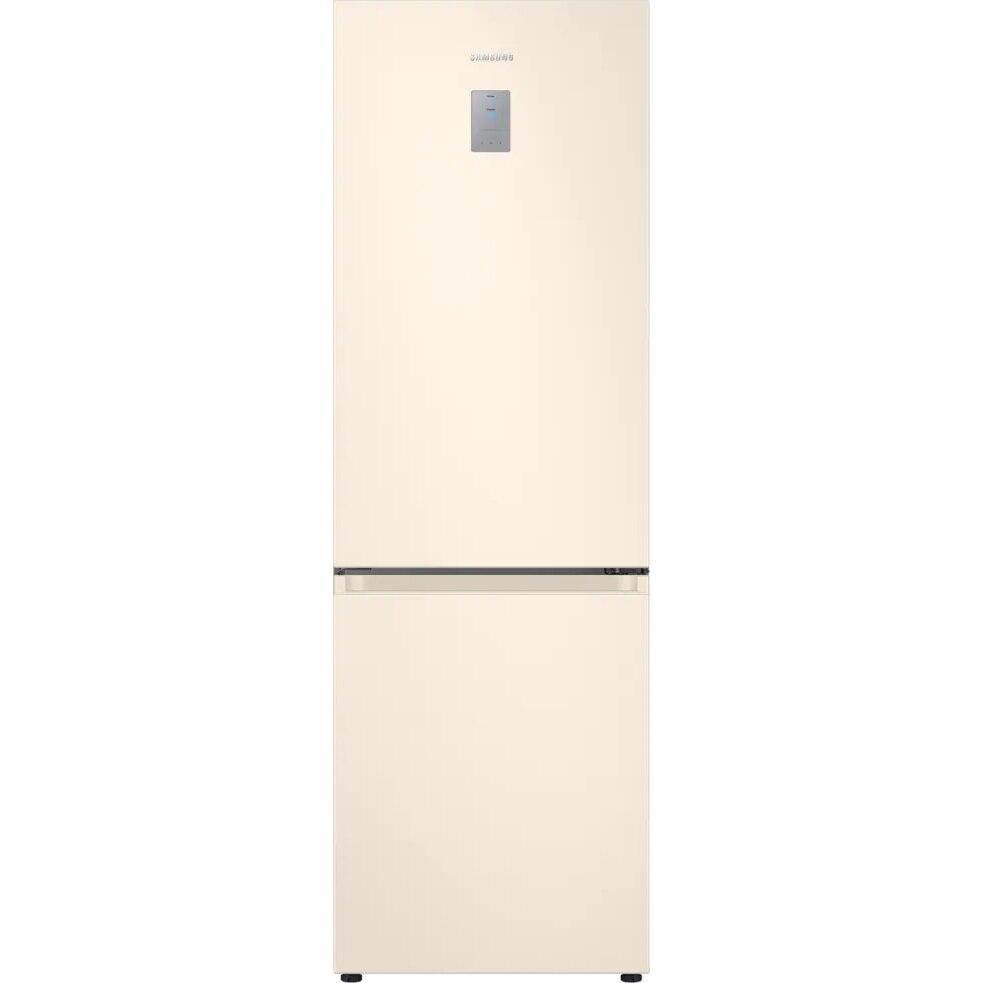 Fotografie Combina frigorifica Samsung RB34T672FEL/EF, 340 l, Clasa F, NoFrost, Compresor Digital Inverter, All around coooling, H 185 cm, Bej