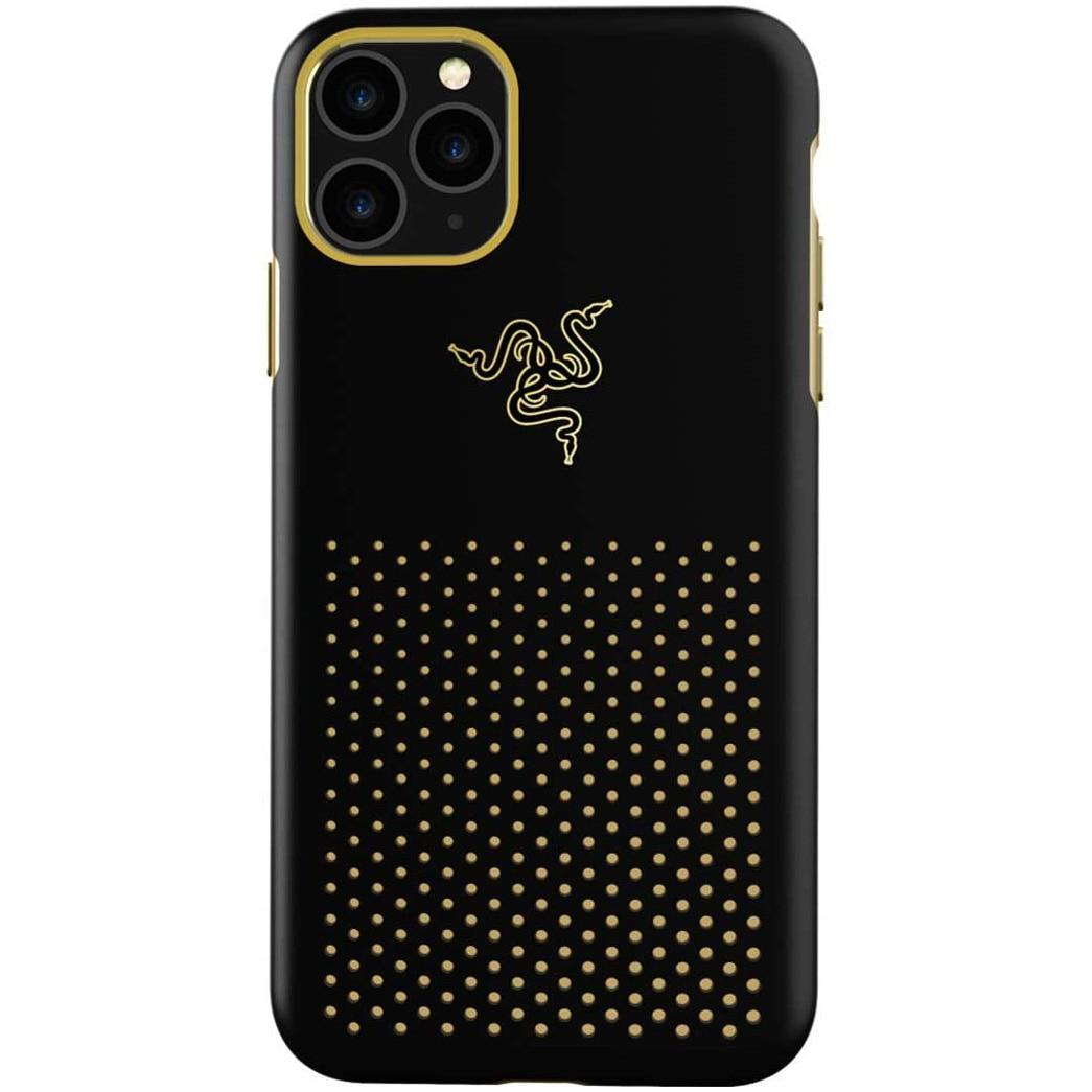 Fotografie Husa de protectie Razer Arctech Pro THS Edition pentru iPhone 11 Pro, Black/Gold