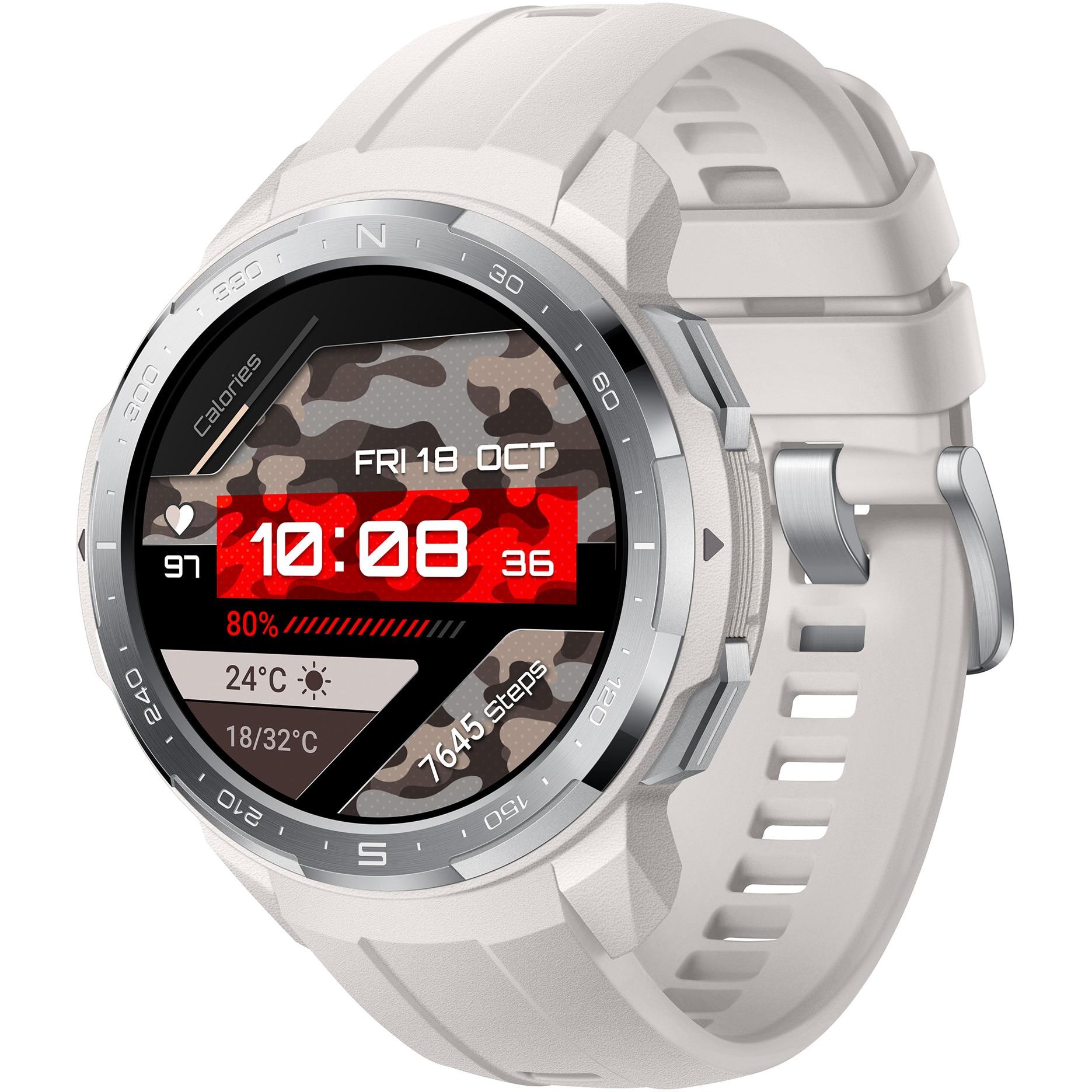 Fotografie Ceas smartwatch Honor Watch GS Pro, Marl White