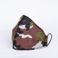 3 rétegű mosható textil maszk G3 szűrővel - Terep- M (női) méret