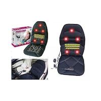 Масажираща нагряваща седалка с 5 точки, функция нагряване, дистанционно, 12/220V