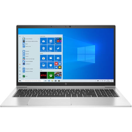 "Лаптоп HP EliteBook 855 G7, 15.6"", AMD Ryzen™ 7 PRO 4750U, RAM 8GB, SSD 256GB, AMD Radeon™ Vega, Microsoft Windows 10 Pro, Silver"