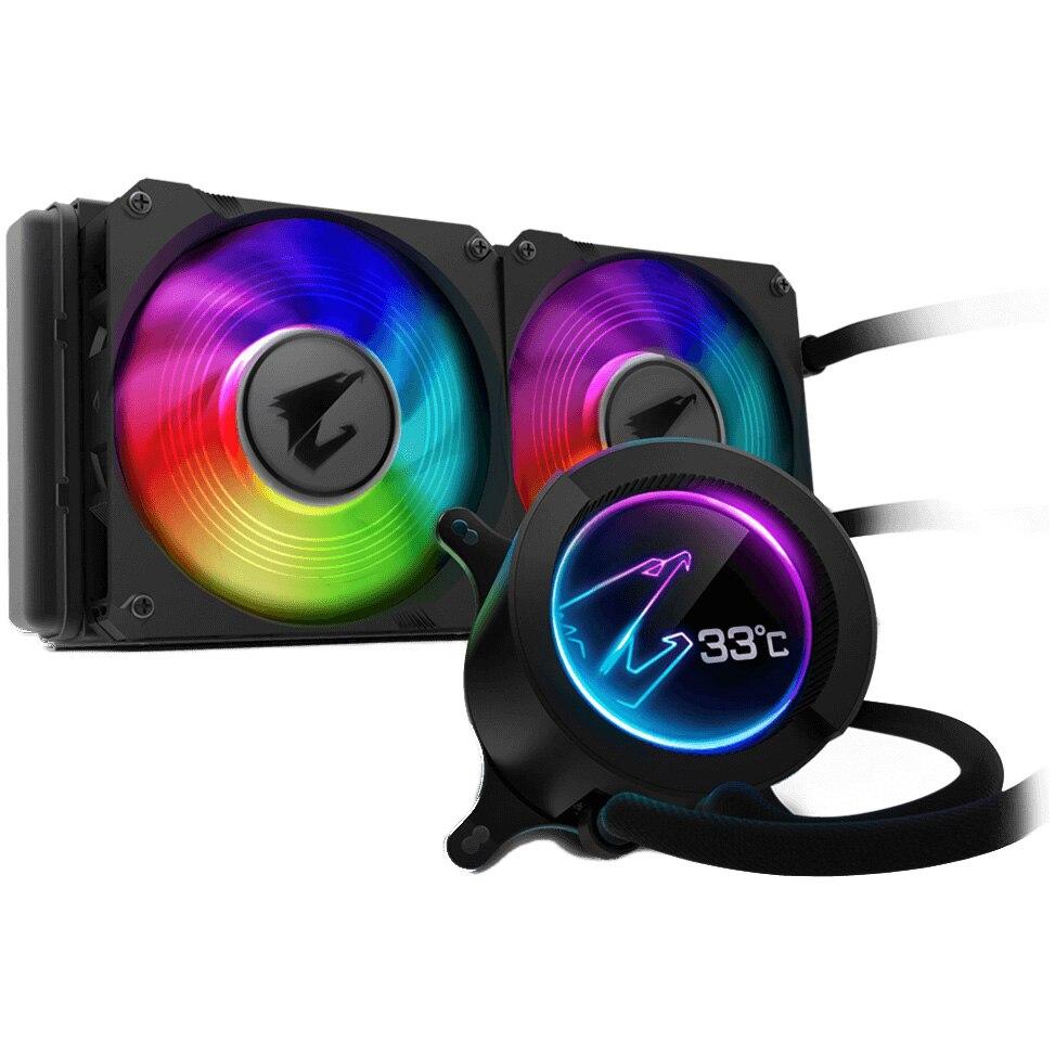 Fotografie Coolere procesor Gigabyte AORUS LIQUID COOLER 240, compatibil AMD/Intel