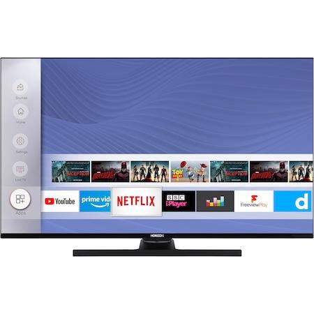"""Телевизор HORIZON 43HL8530U/B, 43"""" (108 см), Smart, 4K Ultra HD, LED, Клас A+"""