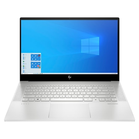 Лаптоп HP Envy 15-ep0000nu Natural Silver, Core i5-10300H(2.5Ghz, up to 4.5GHz/8MB/4C), 15.6