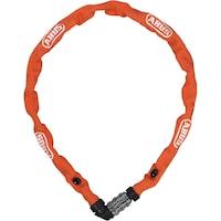 Заключващо устройство за велосипед тип верига с код ABUS, 1200 Web Lock, оранжев
