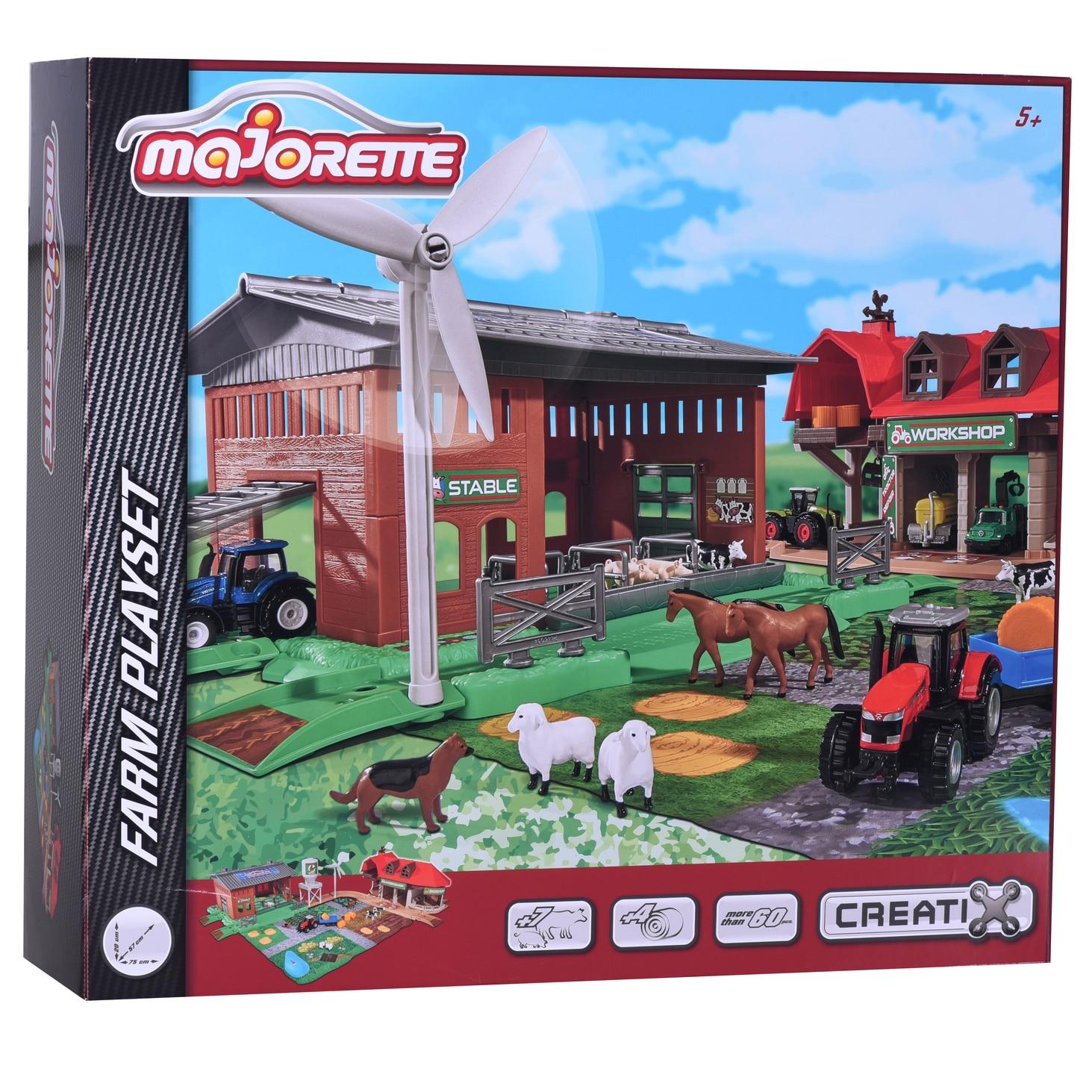 Fotografie Set de joaca Majorette Creatix - Big Farm