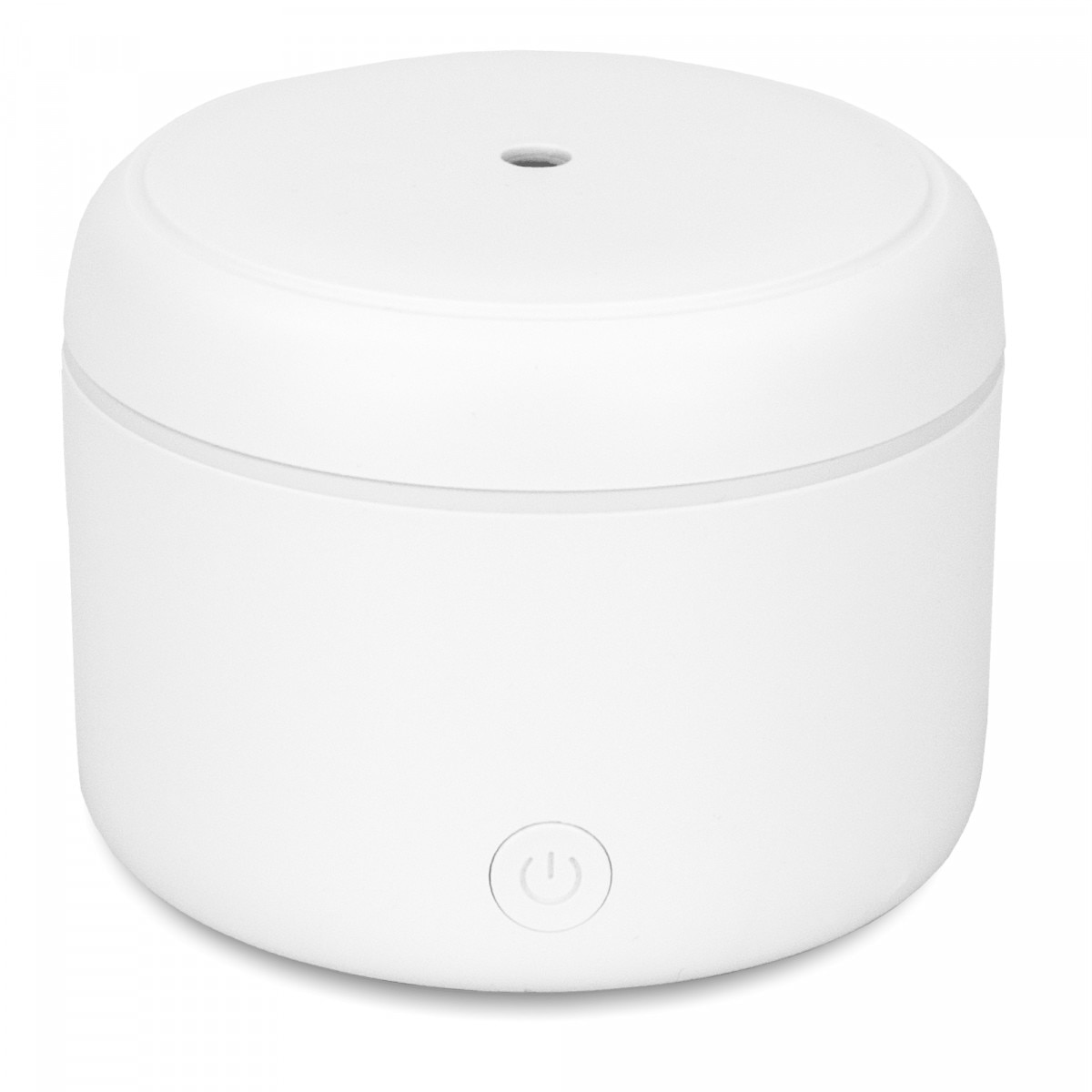 Fotografie Difuzor de Aroma cu Ultrasunete Turbionaire Puck Snow, 7 Lumini LED interschimbabile, 5 W, Silentios, Portabil, Posibilitate alimentare USB, Oprire automata