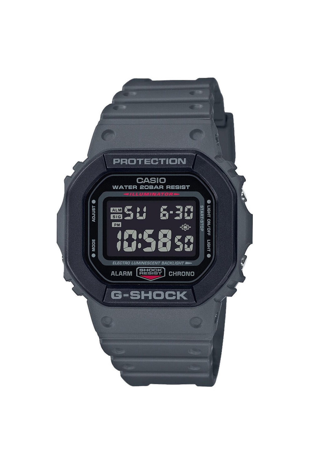 Fotografie Casio, Ceas digital cronograf G-Shock, Negru
