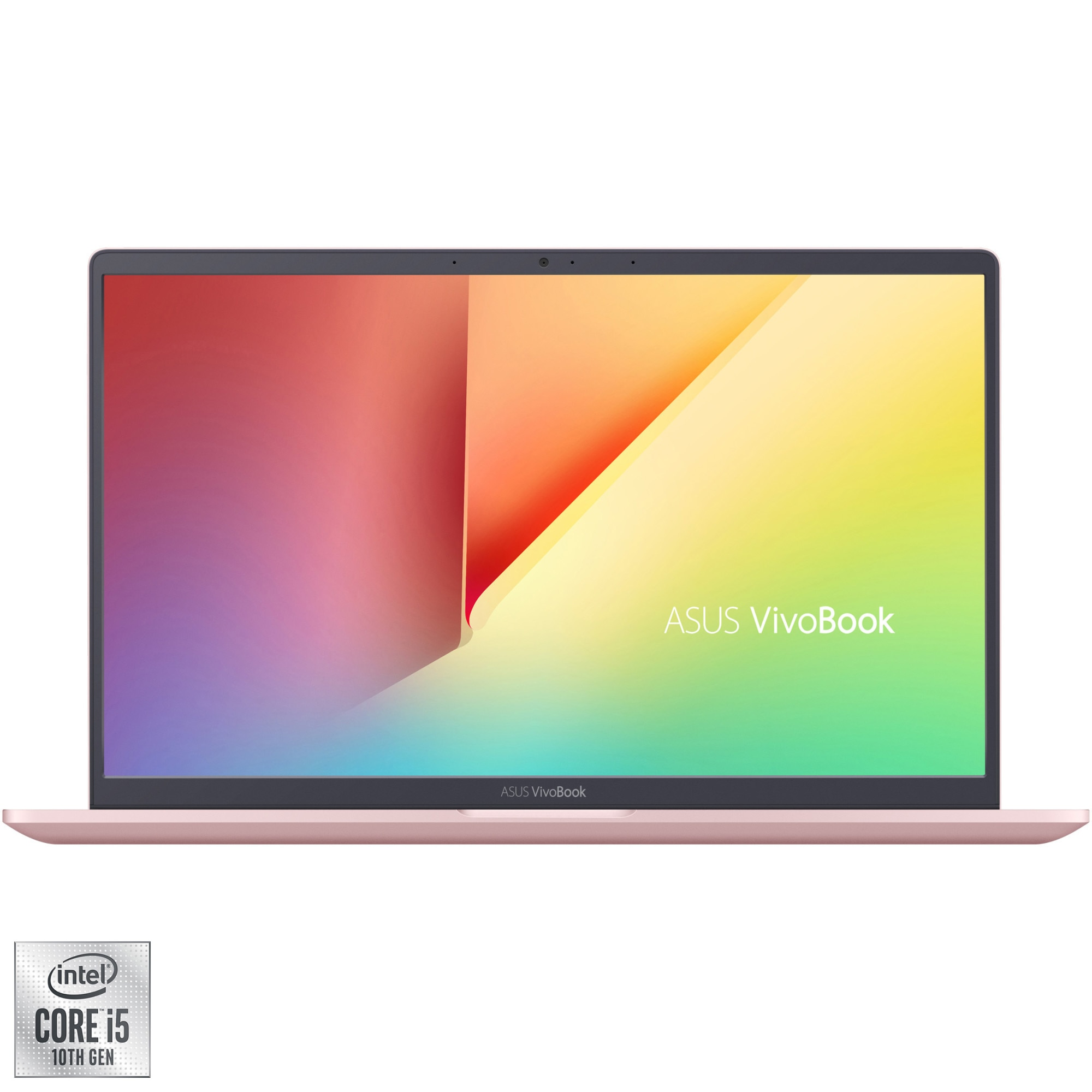 "Fotografie Laptop ultraportabil ASUS VivoBook 14 X403JA cu procesor Intel® Core™ i5-1035G1 pana la 3.60 GHz, 14"", Full HD, 8GB, 256GB SSD, Intel® UHD Graphics, Endless OS, Petal Pink"