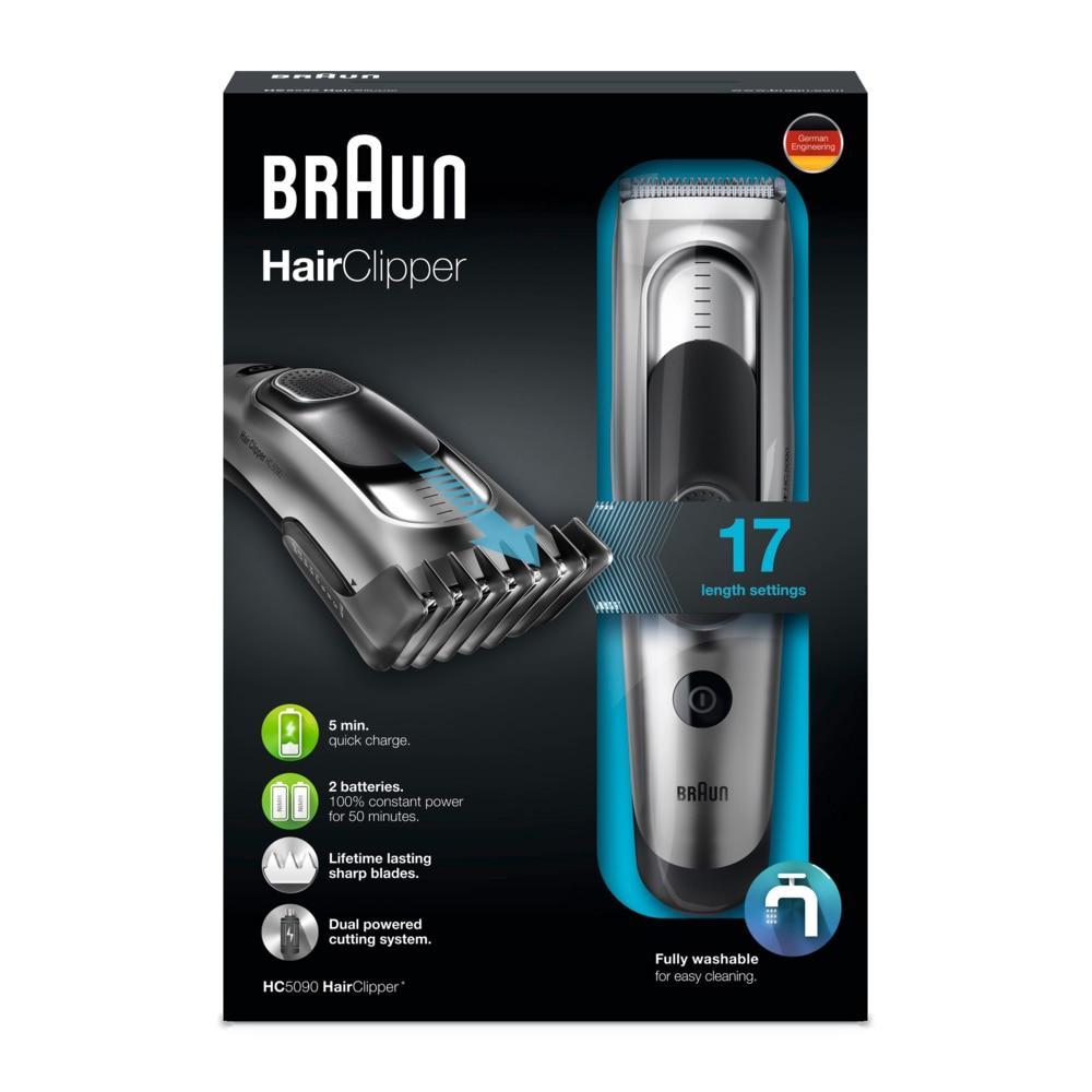 Braun Hair Clipper HC5050 hajnyírógép (43 db