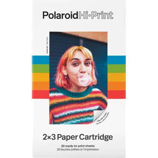 Fotografie Cartus imprimanta Polaroid HiPrint, 2x3, 20 buc