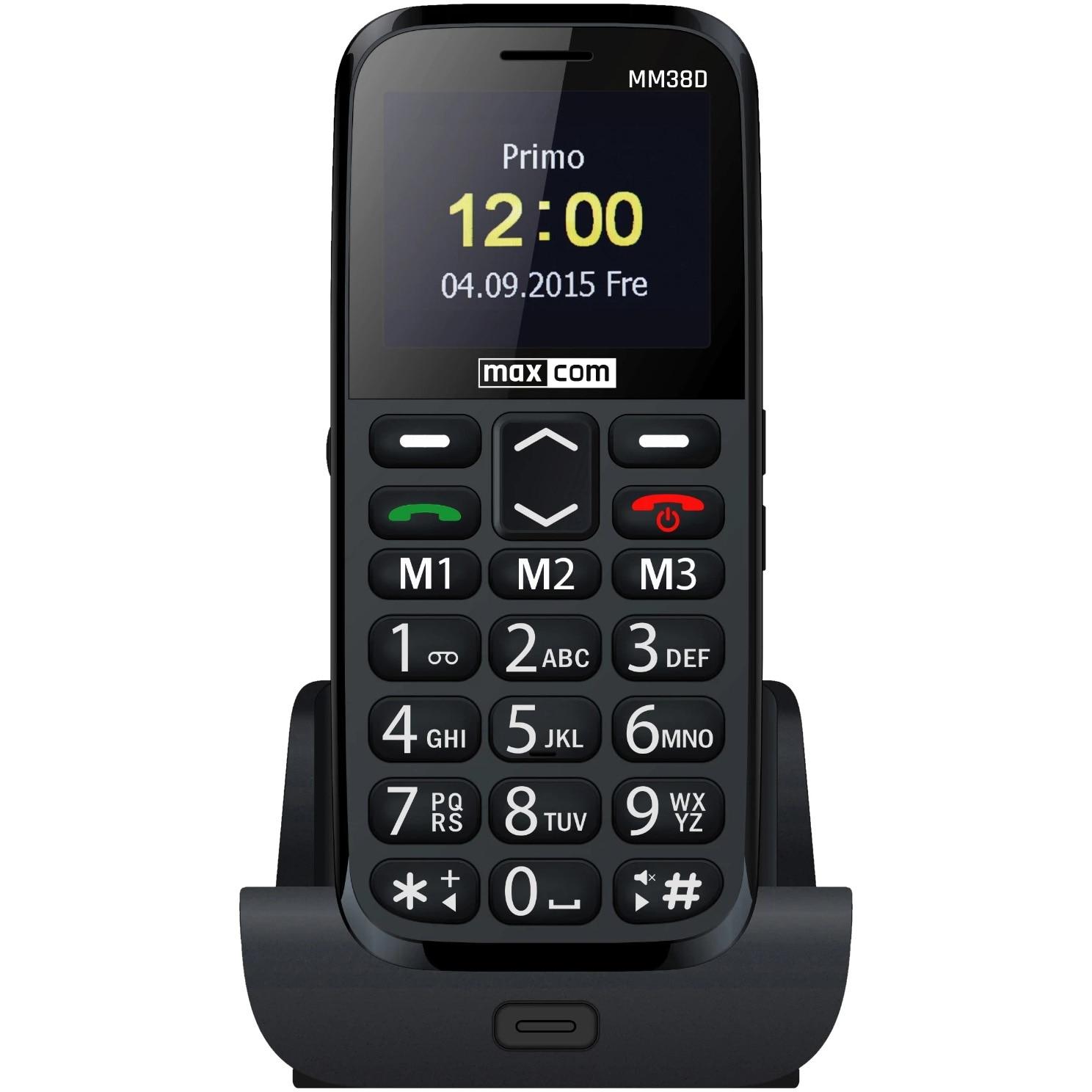 Fotografie Telefon mobil MaxCom Comfort MM38D, Black