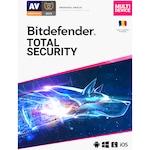 Bitdefender Total Security - 1 an, 5 dispozitive, retail