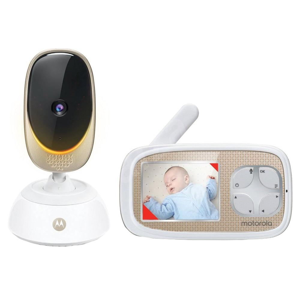 Fotografie Sistem video monitorizare bebelusi Motorola Comfort45 Connect Digital + Wi-Fi, HD, termometru, infrarosu