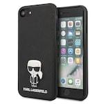 Калъф за телефон Karl Lagerfeld iPhone 7/8 Se 2020 Hardcase Saffiano Ikonik