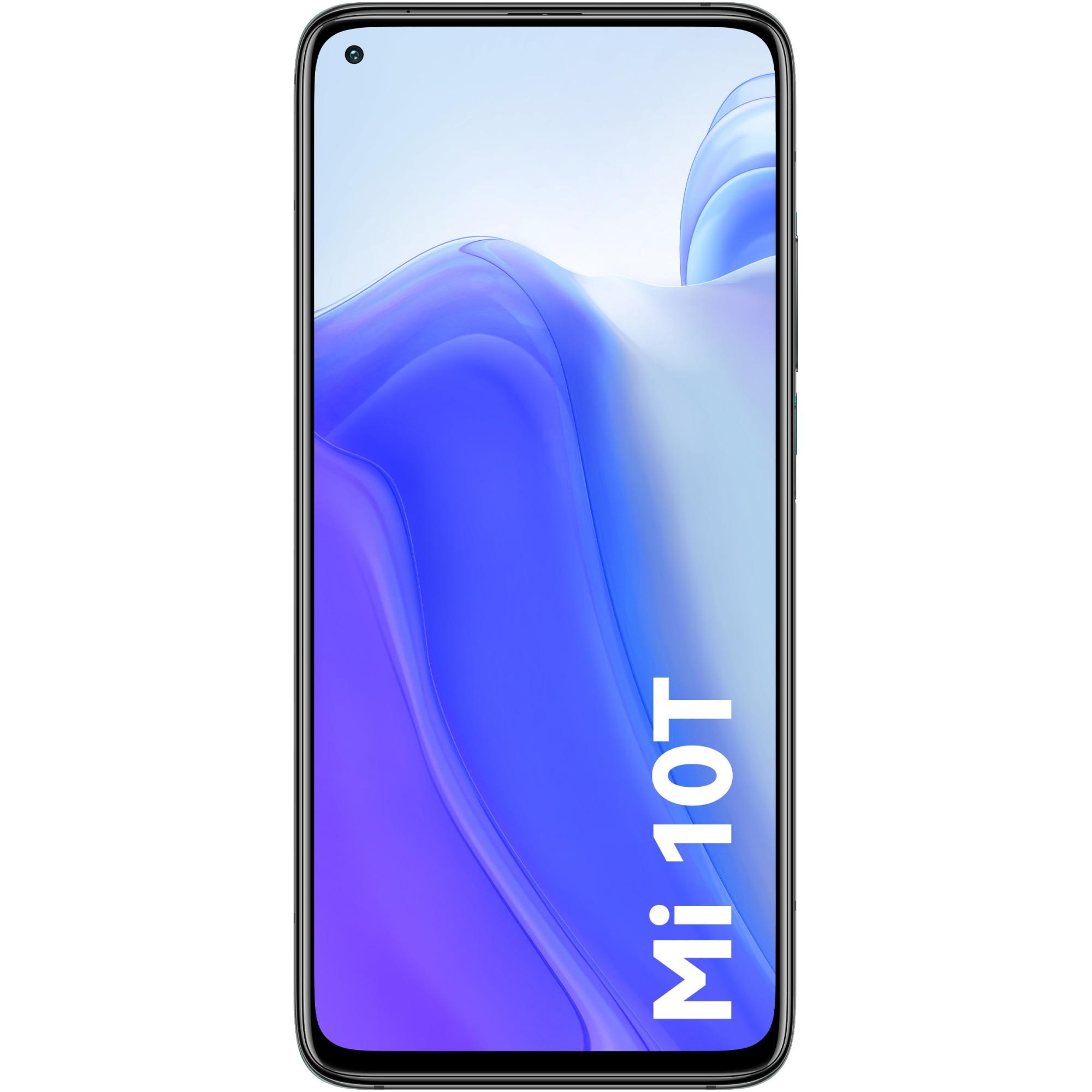 Fotografie Telefon mobil Xiaomi Mi 10T, Dual SIM, 128GB, 8GB RAM, 5G, Cosmic Black