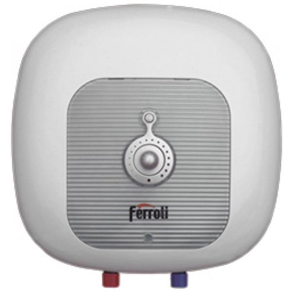 Fotografie Boiler electric Ferroli Cubo SG 10, 1500 W, 10 l, Termostat reglabil, Protectie electrica IPx4, Montare deasupra chiuvetei