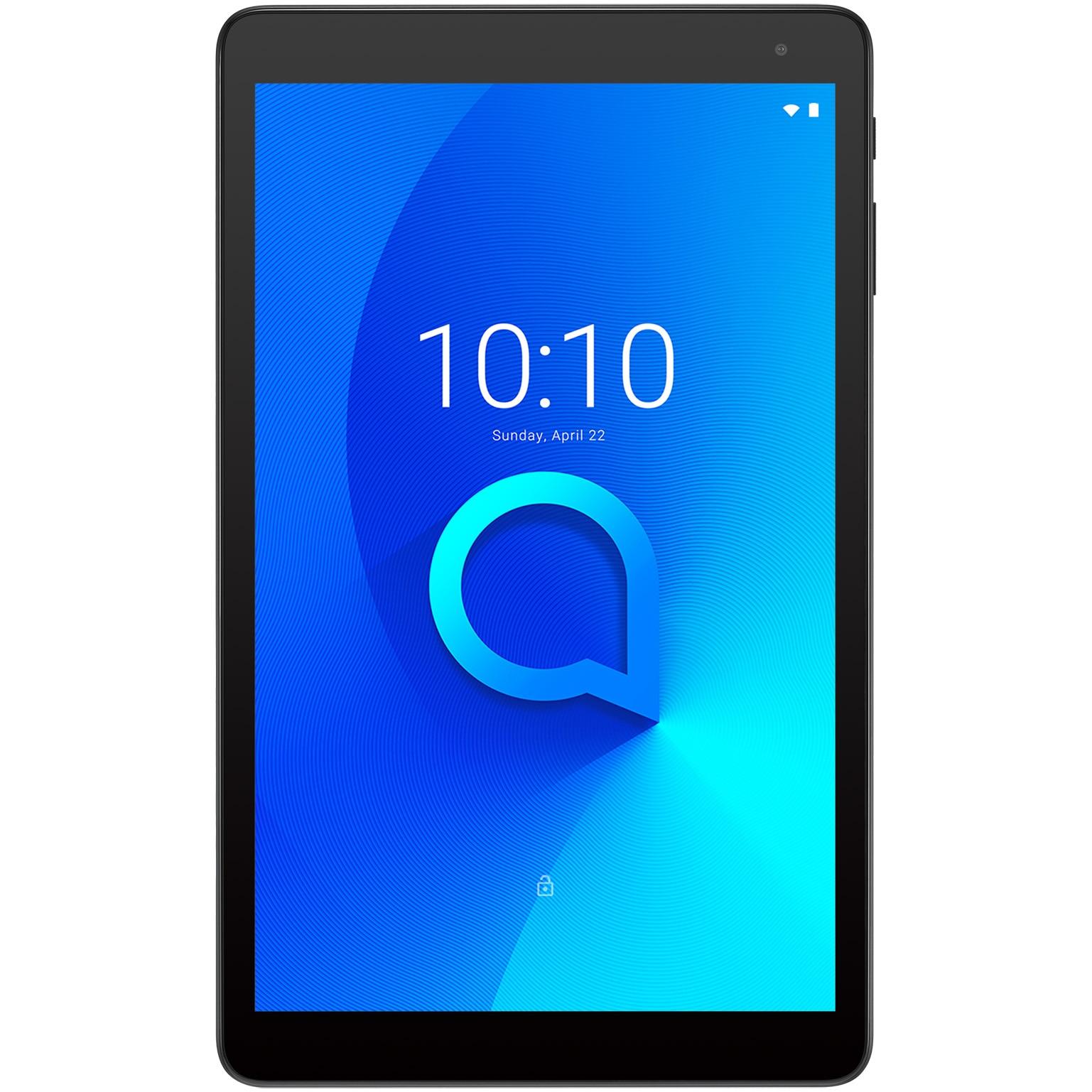 "Fotografie Tableta Alcatel 1T 10 Premium, Quad-Core, 10"", 2GB RAM, 32GB, Wi-Fi, Black"