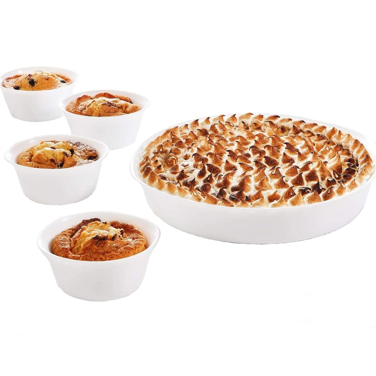 Fotografie Set 5 vase termorezistente Luminarc Smart Cuisine