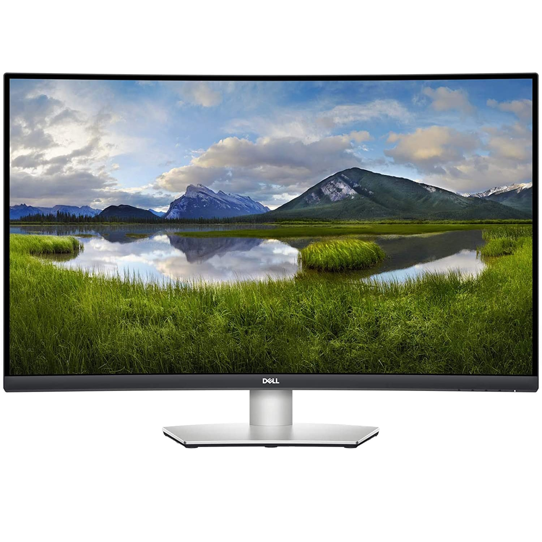 "Fotografie Monitor Curbat LED VA Dell 31.5"", UHD 4K, 60Hz, HDMI, DP, FreeSync, HDR, Pivot, S3221QS"