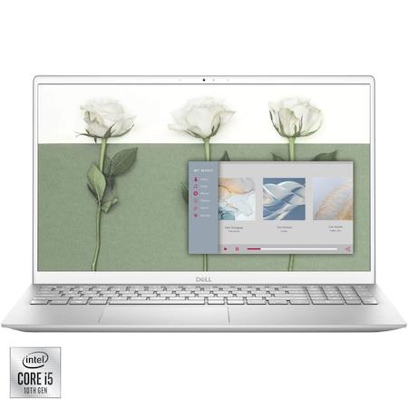 "Лаптоп DELL Inspiron 5501, 15.6"", Intel® Core™ i5-1035G1, RAM 8GB, SSD 512GB, NVIDIA® GeForce® MX330 2GB, Ubuntu, Platinum Silver"